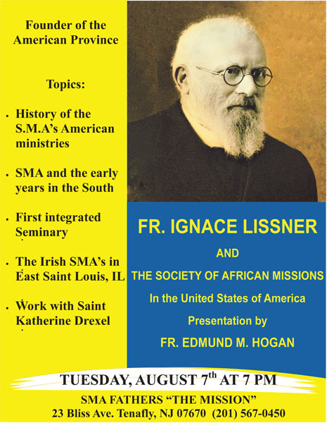 American Province Foundation Day: Fr. Lissner