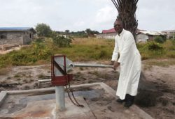 Water well at st mukasa