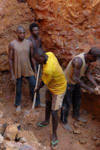 Wolframite Mining Photo bt Julien Harneis